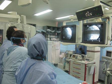 بخش آنژيوگرافی